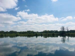 lanscape image lakes