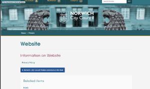 norwich-website